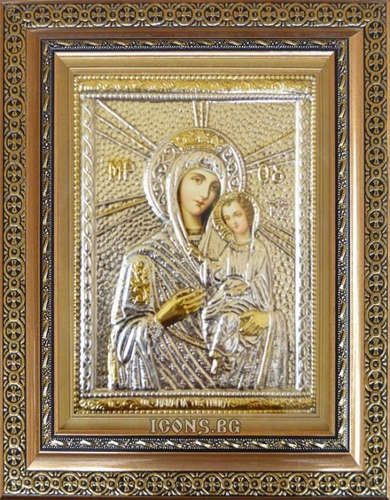 Сребърна икона на Света...