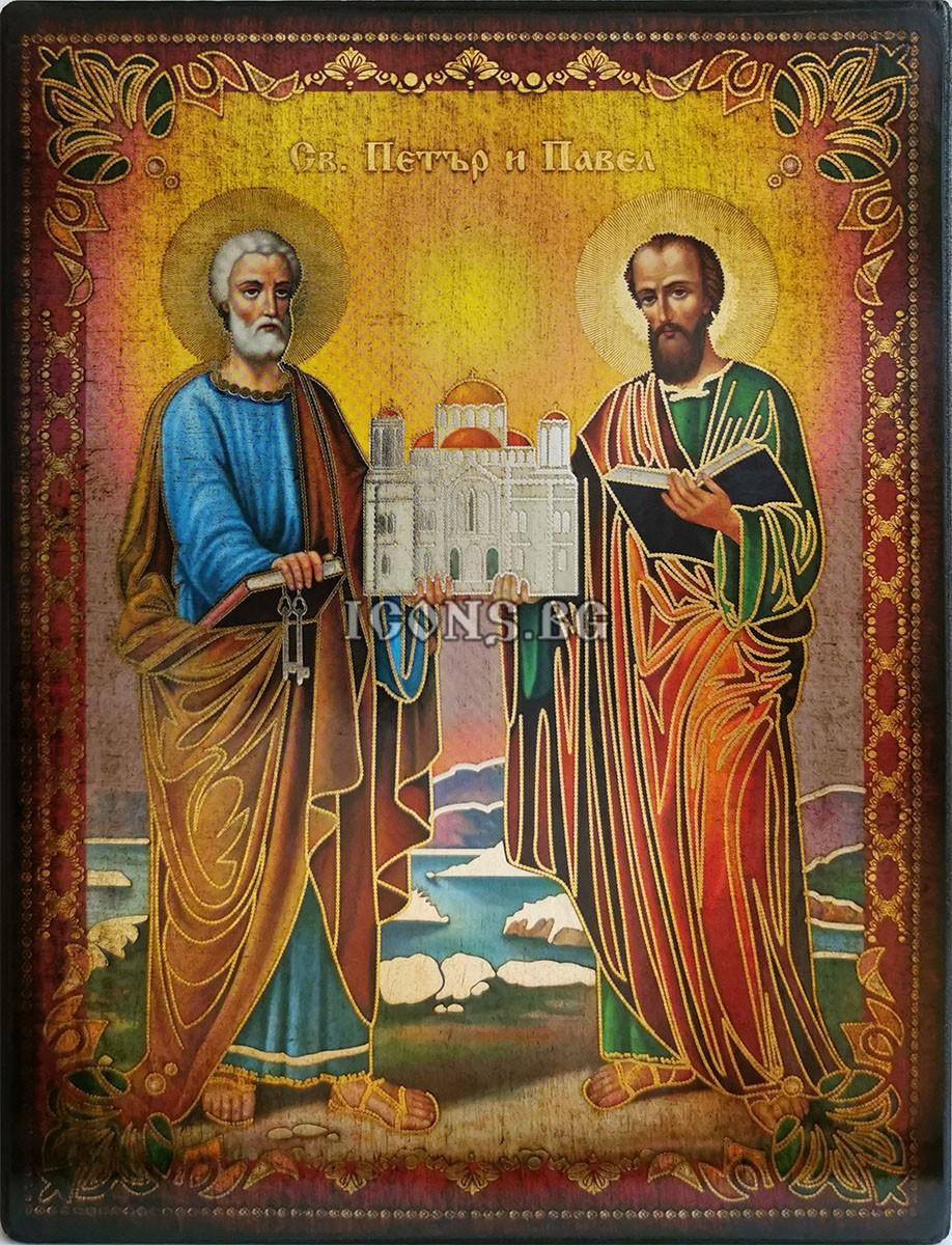 Икона на Свети Петър и Свети Павел