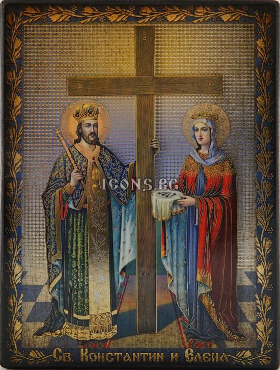 Икона на Св. Константин и...