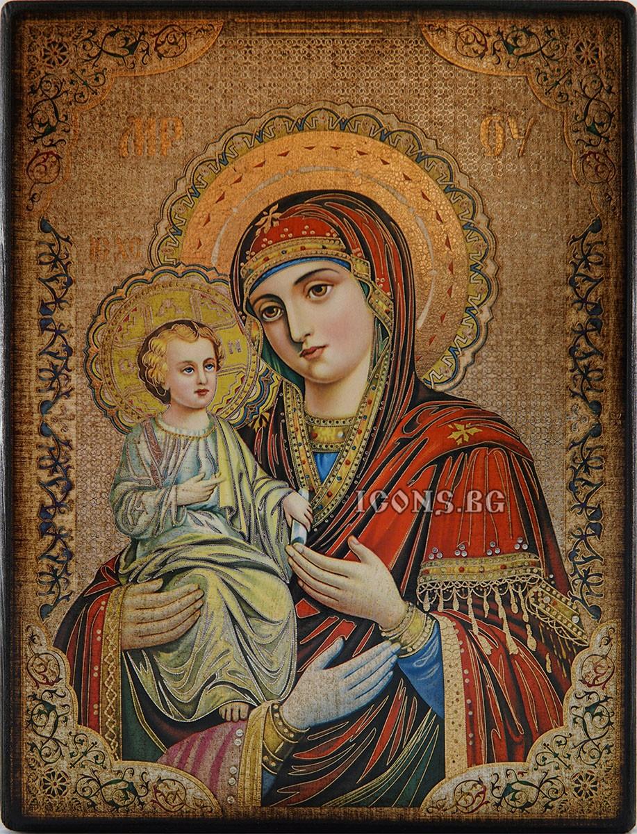 Икона на Света Богородица Троеручица