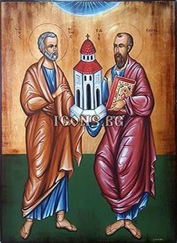 Икони на Св. Петър и Св. Павел