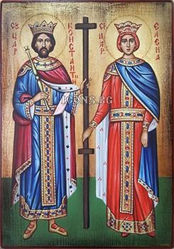 Икони на Св. Константин и Св. Елена