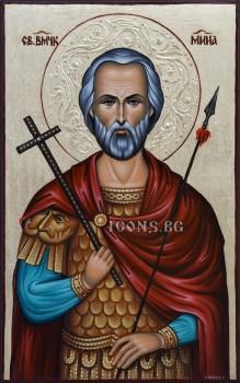 Икони на Свети Мина