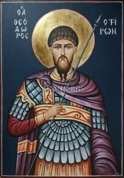 Икони на Свети Тодор